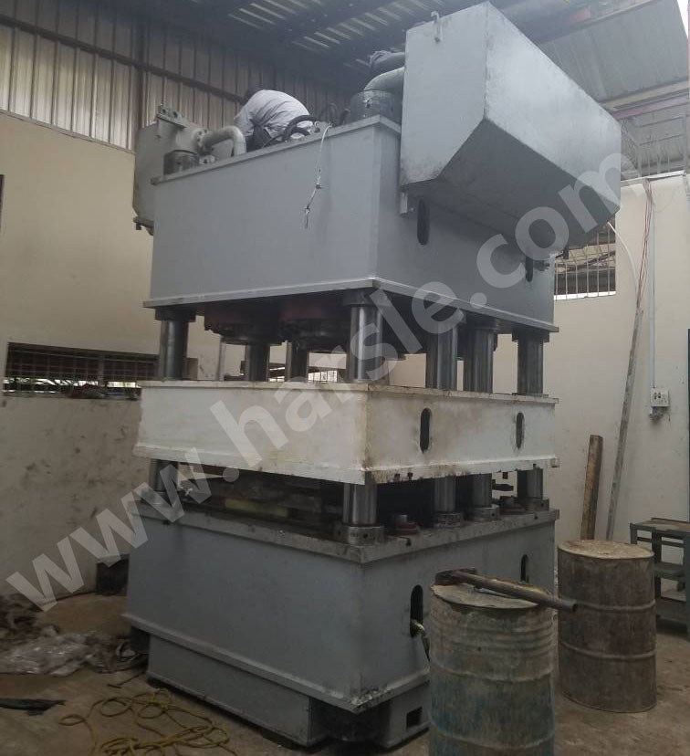 2000Ton Steel Embossing Machine Was Installed In Nigeria